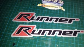 Gilera Runner side panel Stickers FX, FXR, SP, VX, VXR, Gilly pogialli malossi